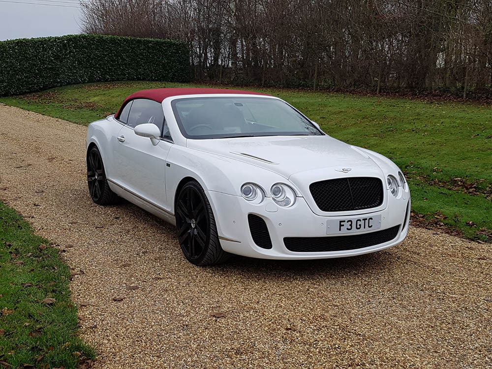 Bentley GTC Super Sport For Hire